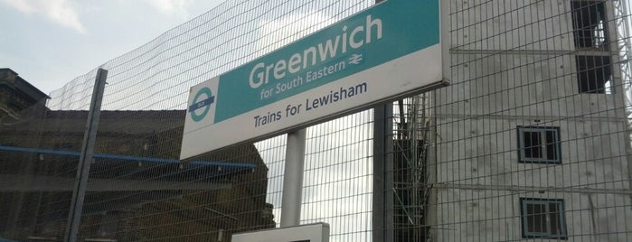 Greenwich DLR Station is one of Summer in London/été à Londres.