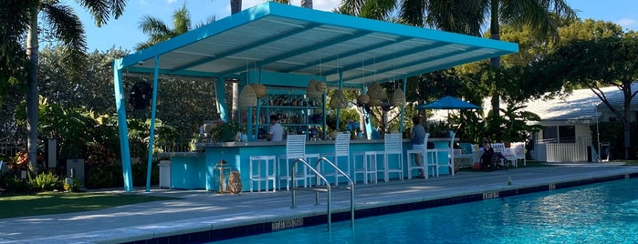 Vagabond Pool Bar is one of Miami with JetSetCD.