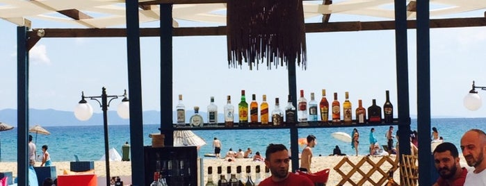 Keyif Beach Cafe & Bar is one of Gözdeさんの保存済みスポット.