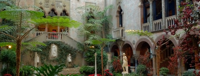 Isabella Stewart Gardner Museum is one of Stevenson's Favorite Art Museums.