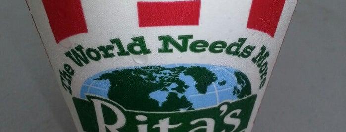 Rita's Italian Ice & Frozen Custard is one of Been To.