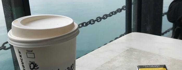 Starbucks is one of Kuşadası.