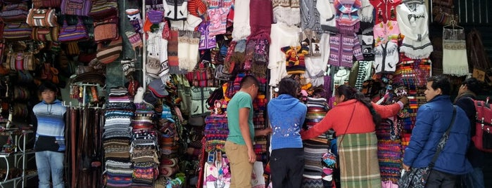 Mercado de Artesanias is one of Carlos : понравившиеся места.