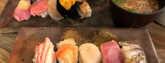 Endo Sushi is one of Osaka Eats.