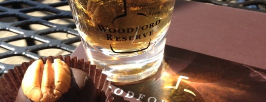 Woodford Reserve Distillery is one of Louisville.