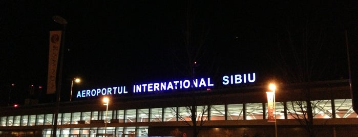 Sibiu International Airport (SBZ) is one of Airports.