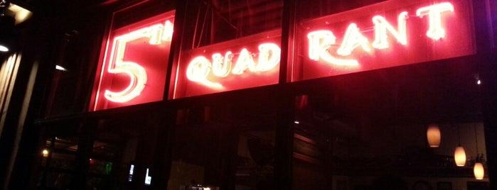 5th Quadrant is one of Portlandia Pilgrimage.