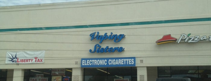 Vaping Sisters is one of Pensacola's Best Spots!.