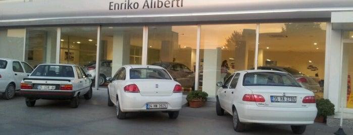 Enriko Aliberti Otomotiv is one of İrmgmz'in Beğendiği Mekanlar.