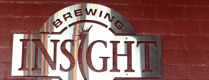 Insight Brewing is one of Lieux qui ont plu à Jason.