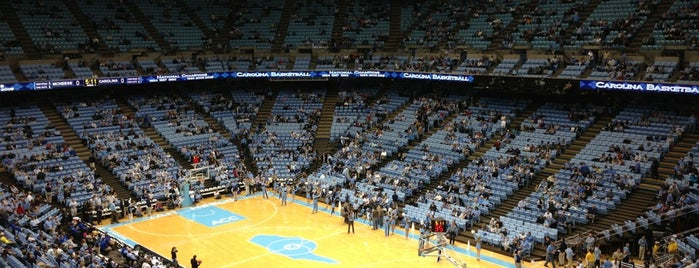 Dean E. Smith Center is one of All Things Sporting Venues....