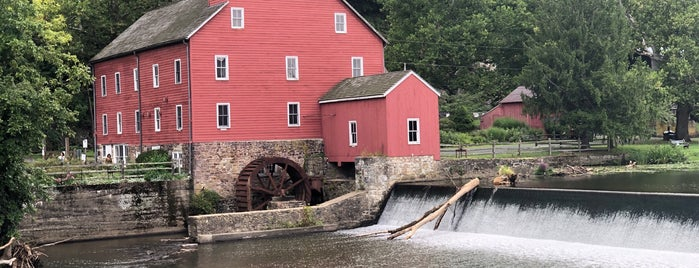 The Red Mill Museum Village is one of NJ Clinton-Bridgewater.
