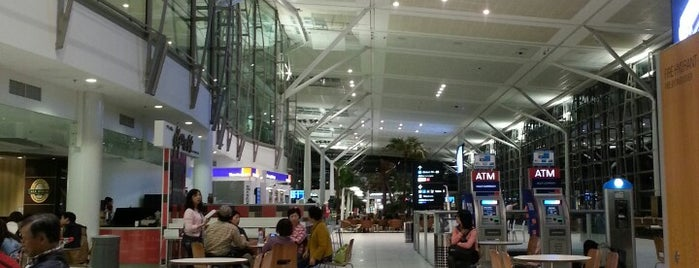 Brisbane Airport (BNE) is one of Airports.