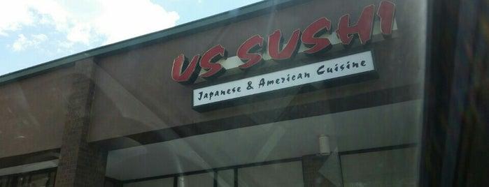 US Sushi is one of Michael'in Beğendiği Mekanlar.