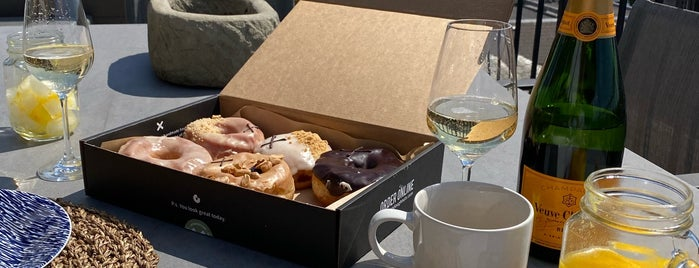 Crosstown Doughnuts is one of Coffee shops.
