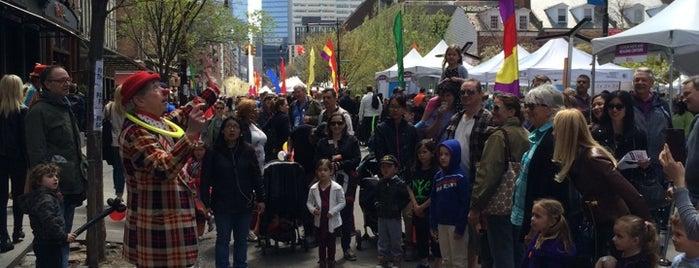 TribecaFest: Family Festival Street Fair is one of christina 님이 좋아한 장소.
