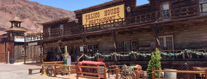 Calico Ghost Town is one of Historic Route 66.