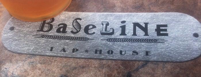 BaseLine Tap House is one of Lieux qui ont plu à Tyler.
