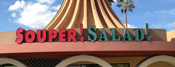 Souper Salad is one of Restaurants.