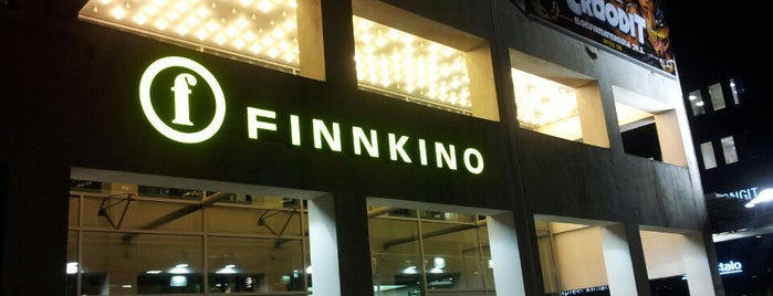 Finnkino Tennispalatsi is one of Orte, die Petri gefallen.