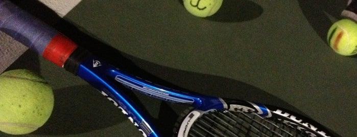 Tennis Courts CCBS is one of สถานที่ที่บันทึกไว้ของ Kat.