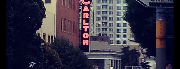 Hotel Carlton is one of favs around Bay Area.