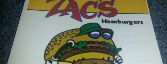 Zac's Hamburgers is one of Foodie - Misc 1.