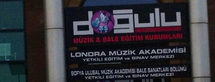 Doğulu Müzik ve Bale Okulu is one of Özge'nin Beğendiği Mekanlar.
