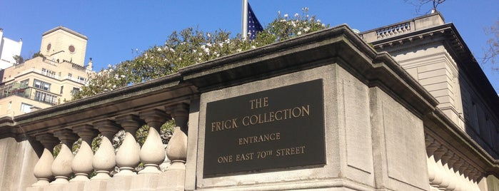 The Frick Collection is one of NYC I see.
