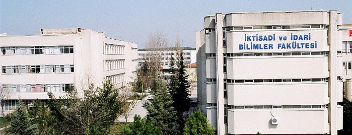 İktisadi ve İdari Bilimler Fakültesi is one of Check-in liste - 2.