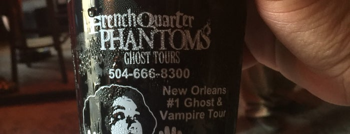 French Quarter Phantoms Cemetery Tour is one of Nola 🥃🎺🥳.