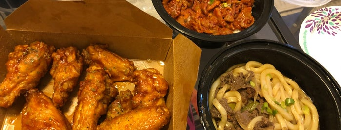 Jiku Wicked Wings and Korean Grub is one of Time out recommendations.