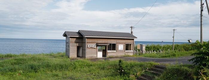 驫木駅 is one of JR 키타토호쿠지방역 (JR 北東北地方の駅).