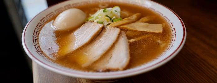 喜多方食堂 麺や玄 is one of Gespeicherte Orte von Hide.