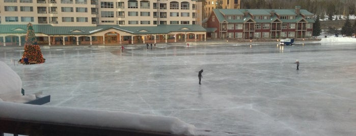 Keystone Lakeside Village Ice Rink is one of Tappin the Rockies...