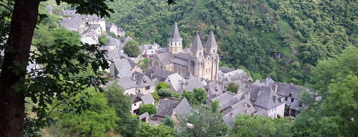 Conques is one of France.