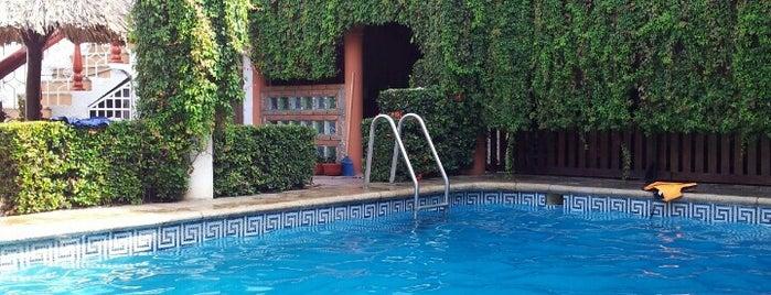 Casablanca hotel is one of Tempat yang Disukai Angie.