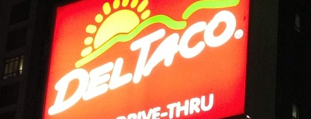 Del Taco is one of Lieux qui ont plu à Alfa.