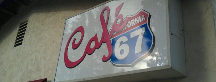 Cafe 67 is one of Tempat yang Disimpan James.
