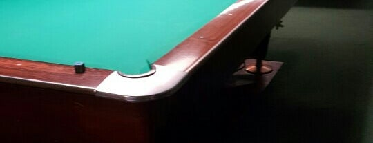 Chicago Billiards Cafe is one of my fav chicago spots.