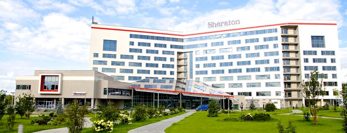 Sheraton Moscow Sheremetyevo Airport Hotel is one of Orte, die Tani gefallen.