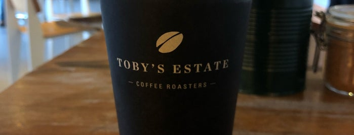 Toby's Estate Coffee Roasters is one of MarielEduartePHさんのお気に入りスポット.