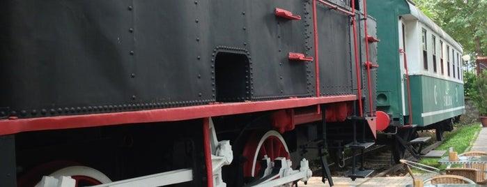 Tarihi Merinos Tren İstasyonu Sosyal Tesisleri is one of Orte, die Ömer gefallen.