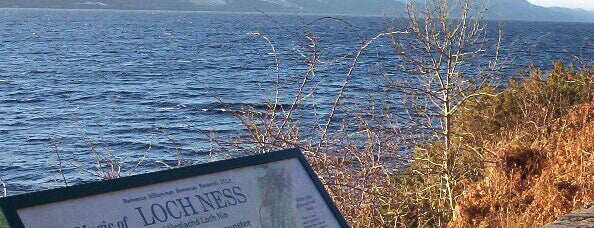 Loch Ness is one of Before the Earth swallows me....