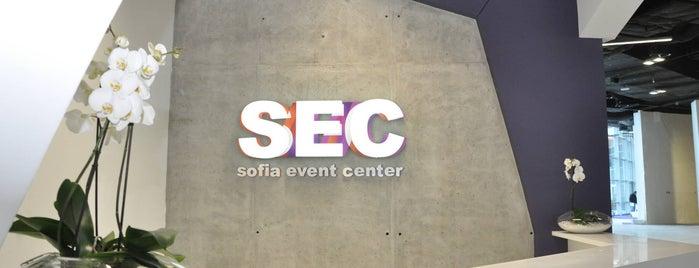Sofia Event Center is one of Lieux qui ont plu à Jana.