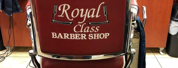 Royal Class Barbershop is one of John : понравившиеся места.
