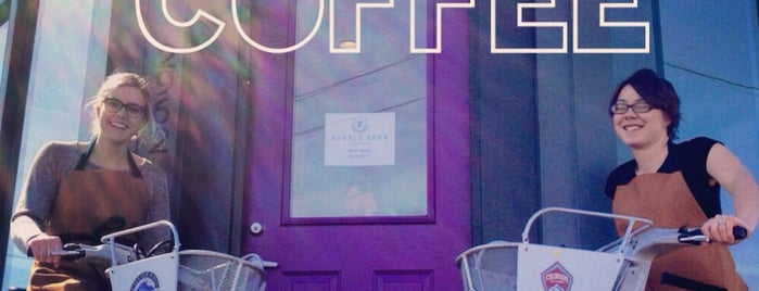 Purple Door Coffee is one of DEN.