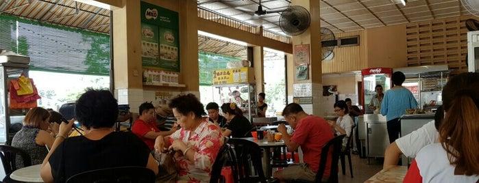 香江茶餐室 is one of Tempat yang Disukai Stefen.