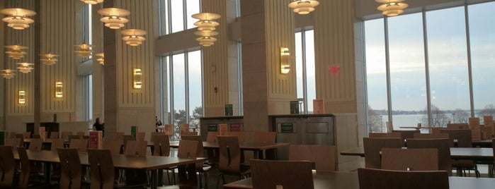 UMass Boston Cafeteria is one of My Favorites.