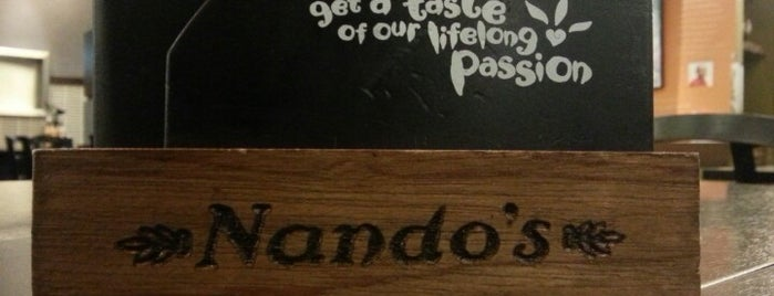 Nando's is one of Lieux qui ont plu à Adrian.